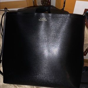 Vince Camuto large leather tote